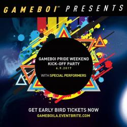 GAMeBoi - Pride Weekend Kick-Off Party