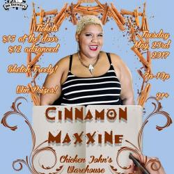 Dr. Sketchy's SF Presents Cinnamon Maxxine!