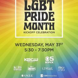 CBS LGBT Pride Month Kick-Off Celebration