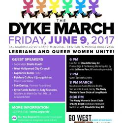 Dyke March - City of West Hollywood