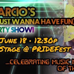 DeMarcio's 80's PRIDE Party Show!