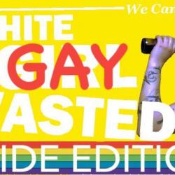 White GAY Wasted : PRIDE EDITION