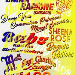 High Fantasy - guest DJ Nina Ramone (Chicago) + 2 lil' shows!