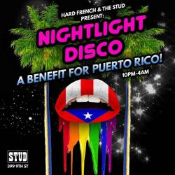 Nightlight Disco! A Benefit for Puerto Rico
