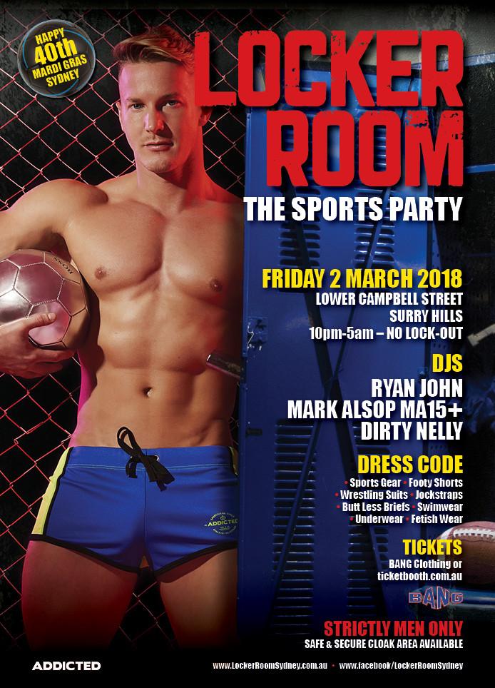 Locker-room gay hot male underwear images