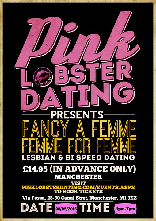 Speed ​​Dating Manchester 2016