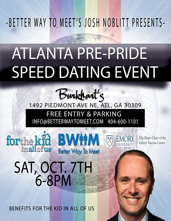 Speed dating event atlanta ga