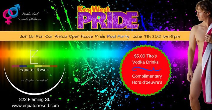 Event: Pride 2018 Annual Pool Party - Details and who's