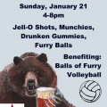 Balls of Furry Beer Bust