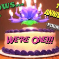 Pillows - We're One! Happy Anniversary, Happy MLK Day!